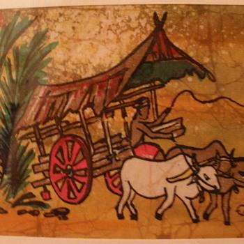 Madras Batik - Visual Art