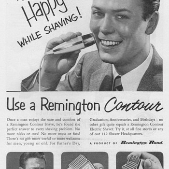 1951 - Remington Shaver Advertisement - Advertising