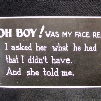 Oh Boy!  - Postcards