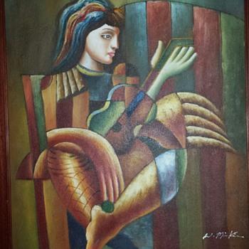 W. Mirkin Painting
