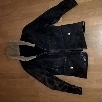 Legend leather jacket: H&L BLOCK San Francisco .Cal