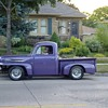  Old 1949 Ford Pick up ! My color too Purple