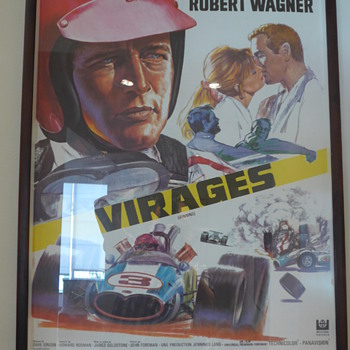 1969 'Winning' Movie Poster - Spanish Edition (Viarges)