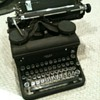 1937 Royal 10 Typewriter with serial number starting &quot;KHY-&quot;