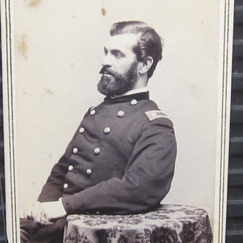 Lt. Col. W.B. Smith of the 8th Connecticut Regiment. - Photographs