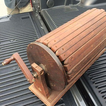 Movable Wooden Slats with Hand Crank. What is it?