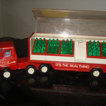 Buddy L Coca Cola Truck