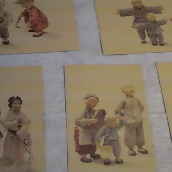 Japanses vintage postcards