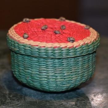 Tiny Watermelon Basket
