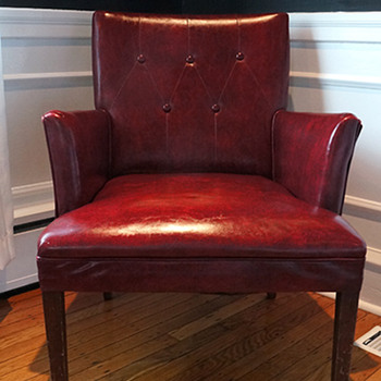 Red Navajo Club Chair - Herman Chairs, Inc. - Furniture