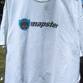 Napster t-shirt, circa 1999