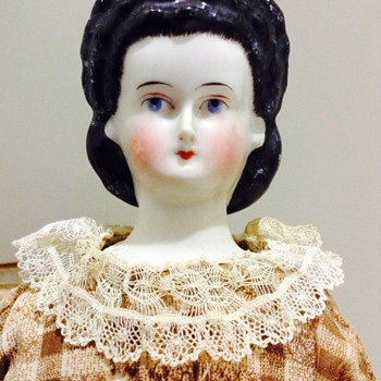 Ca. 1860's China Head Doll