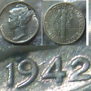 is this a 1942/41 mercury dime?? - US Coins