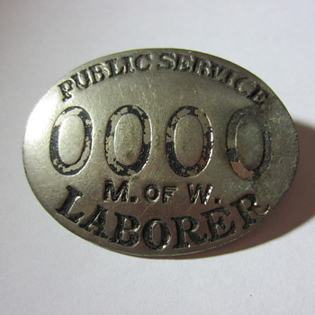 Public Service M of W Badge