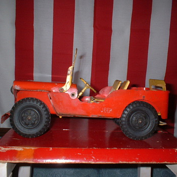 Marx Jeep - Model Cars