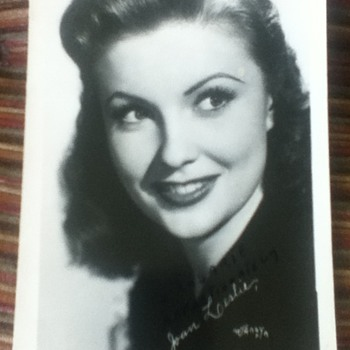 Joan Leslie Autograph - Movies