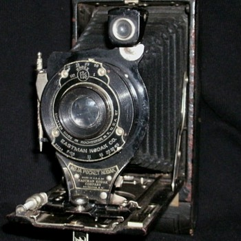 No.1A Pocket Kodak folding camera - Cameras