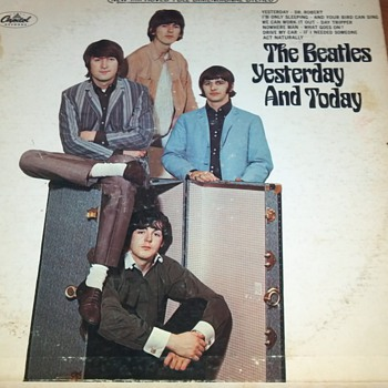 The Beatles Yesterday and Today Vinyl Album - Records