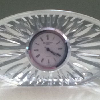 Waterford Crystal Clock - Glassware