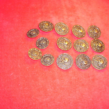 metal buttons from the past?