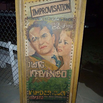 1937 Thunder in the Sun Poster Display