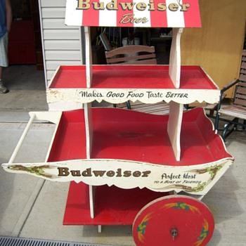 Budweiser Cart - Breweriana