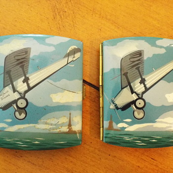 Pair of Spirit of St Louis Cigarette Cases