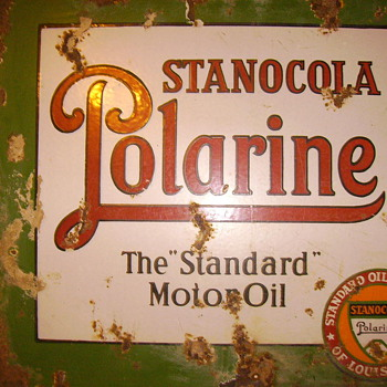 Standard Oil Company of Louisiana Stanocola Polarine Sign - Signs