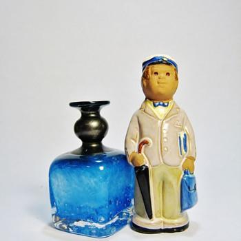 JIE CANTOFTA -SWEDEN  & B.VALLIEN VASE -SWEDEN - Art Pottery