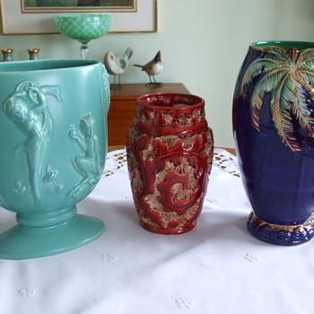 Three Beautiful BESWICK POTTERY Vases - Art Pottery