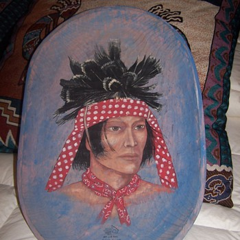 Seminole painting - Native American
