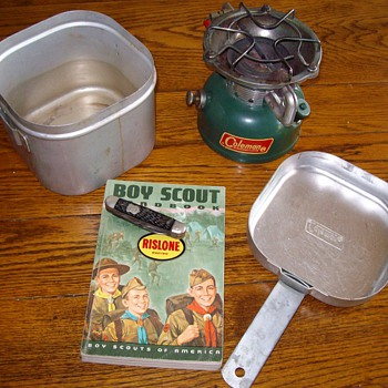 1960's Boy Scout Paraphernalia Of Mine
