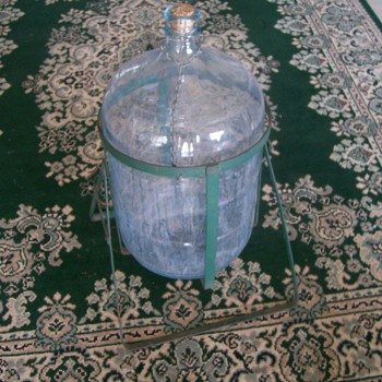 Five Gallon Jug and Stand