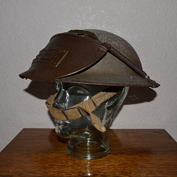 British WWII Civil Defence steel helmet - Military and Wartime
