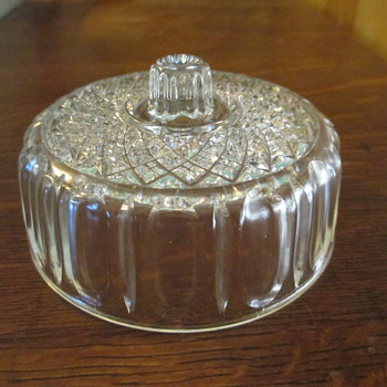 Lid to Kraft Promotional Cheese Dish by Imperial Glass-Ohio