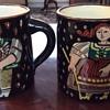 Vintage Swiss Pottery Mugs