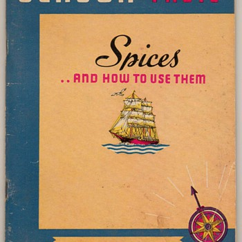 "1938 - ""Spices"" Recipe Booklet"
