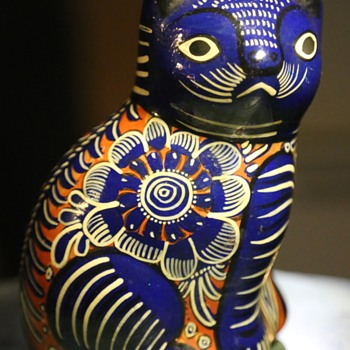 Another Pretty Kitty - Tonala or Guerrero? - Pottery