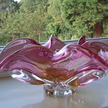 'Chribska' Glass Vases - Art Glass