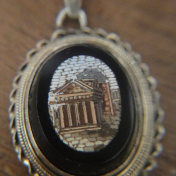 "This micro mosaic pendant makes my ""Grand Tour"" complete - Fine Jewelry"