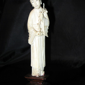 Japanese Ivory Statue - Asian