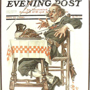 J.C. LEYENDECKER'S  THANKSGIVING COVERS IV - Posters and Prints