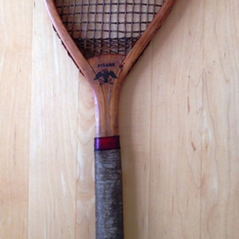 First American Tennis Racket