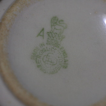 China cup with Royal Doulton logo - China and Dinnerware
