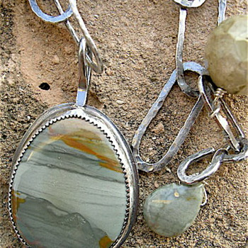 "Old Stock ""Owyhee Mountain"" Jasper  - Fine Jewelry"