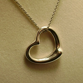 Tiffany & Co Open Heart 925