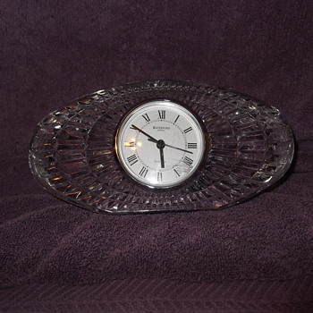 More Crystal Clocks - Clocks