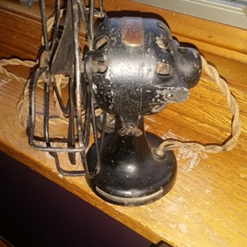 Gilbert Polar fan from 1920: The  before and after - Office