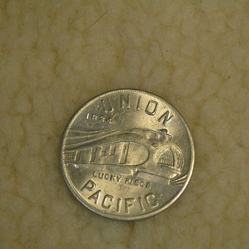 Union Pacific Lucky Piece - Railroadiana
