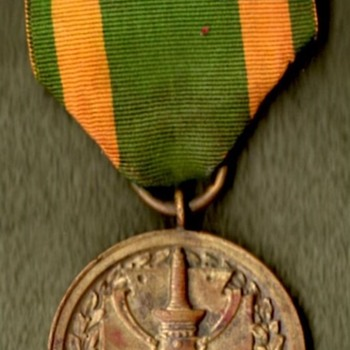 Spanish War and Mexican Border Service Medals - Military and Wartime